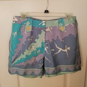 J. McLaughlin Lined Silk Shorts